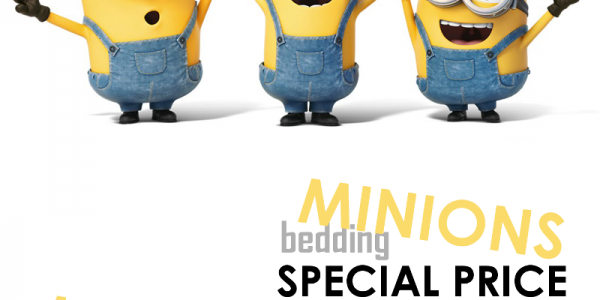 Special offer with Minions